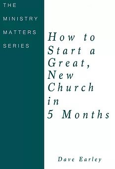 how to start a great new church